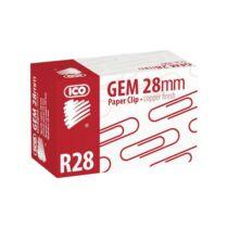 Gemkapocs, 28 mm, ICO, réz 100