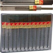 Grafitbél, 0,7 mm, B, 12 szálas, SHARP 288