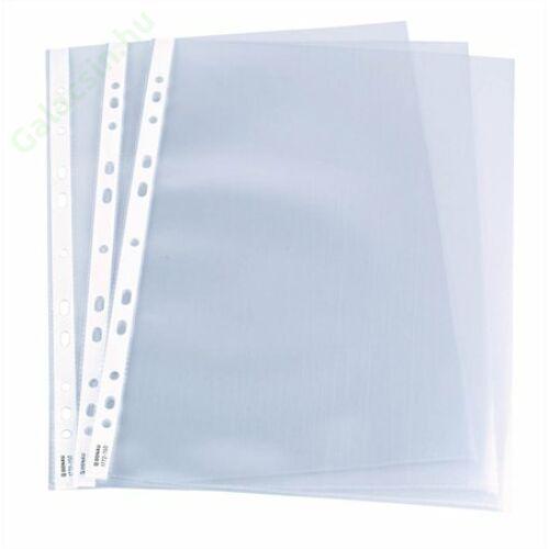 Genotherm, lefűzhető, A4, 50 mikron, víztiszta, dobozban, DONAU 100