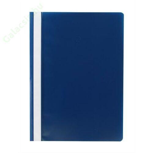 Gyorsfűző, PP, A4, VICTORIA, kék 10db