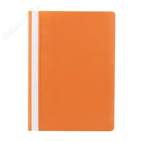 Gyorsfűző, PP, A4, VICTORIA, narancssárga 10db