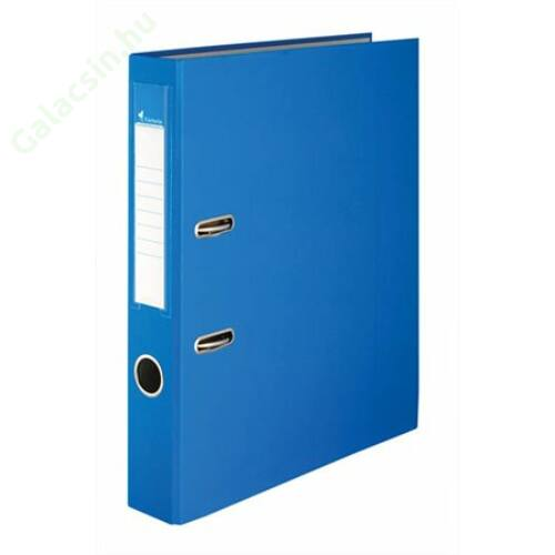 "Iratrendező, 50 mm, A4, PP/karton, VICTORIA, ""Basic"", kék"