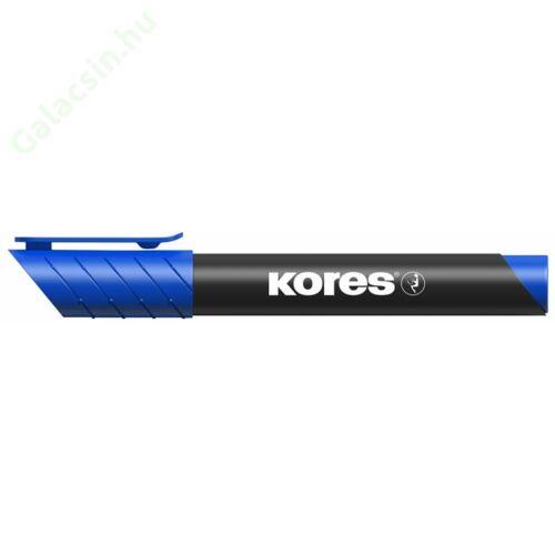 """Alkoholos marker, 3-5 mm, kúpos, KORES """"Marka"""", kék"""