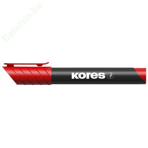 "Alkoholos marker, 3-5 mm, kúpos, KORES ""Marka"", piros"