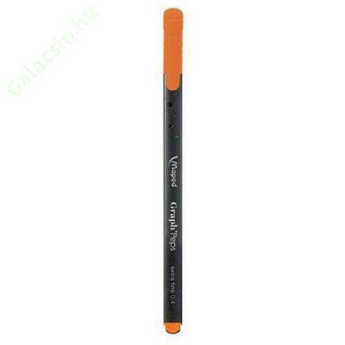 "Tűfilc, 0,4 mm, MAPED ""Graph`Peps"", világos barna"