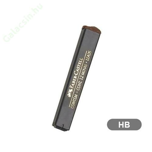 Grafitbél, HB, 0,5 mm, FABER-CASTELL 12szál