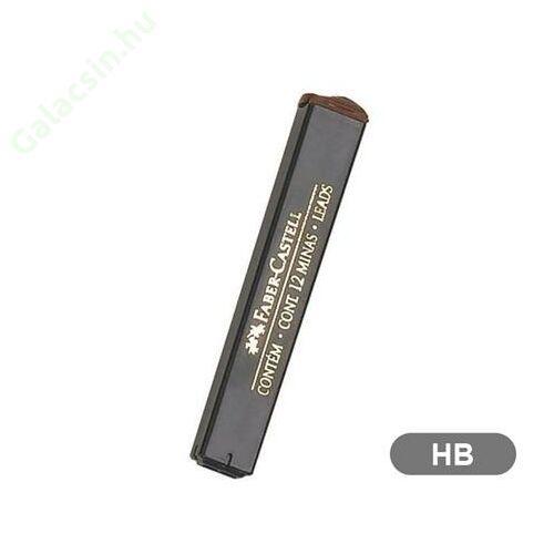 Grafitbél, HB, 0,7 mm, FABER-CASTELL 12szál