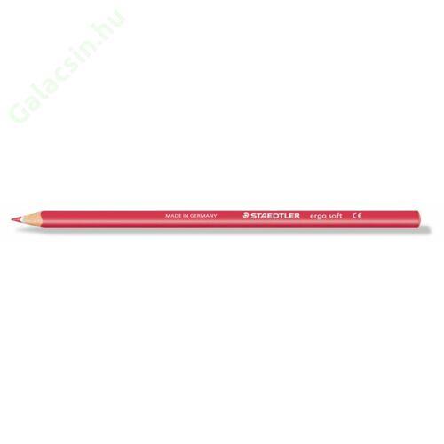 """Színes ceruza, háromszögletű, STAEDTLER """"Ergo Soft"""", bordó"""