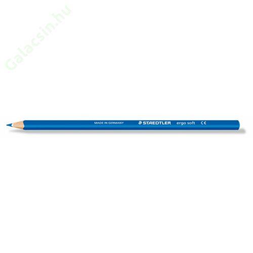 """Színes ceruza, háromszögletű, STAEDTLER """"Ergo Soft"""", kék"""