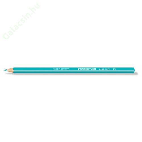 "Színes ceruza, háromszögletű, STAEDTLER ""Ergo Soft"", türkiz"