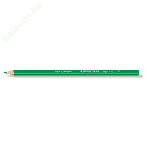 "Színes ceruza, háromszögletű, STAEDTLER ""Ergo Soft"", fűzöld"