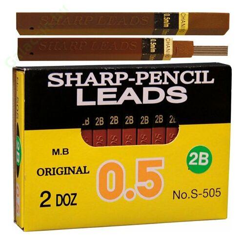 Grafitbél, 0,5 mm, 2B, 12 szálas, SHARP  288