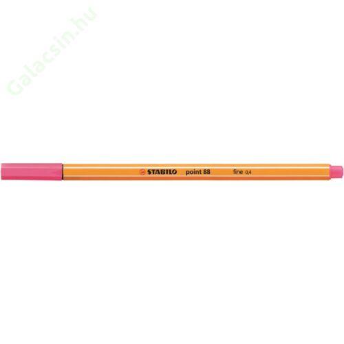 """Tűfilc, 0,4 mm, STABILO """"Point 88"""", pinkes lila"""