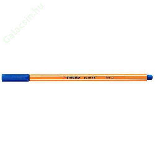"""Tűfilc, 0,4 mm, STABILO """"Point 88"""", kék"""